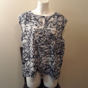 Juicy Couture New Without Tags Blue Tye Dye Top